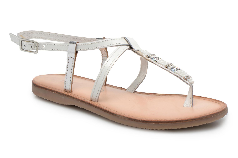 Sandaler Initiale Paris Miro Vit detaljerad bild på paret