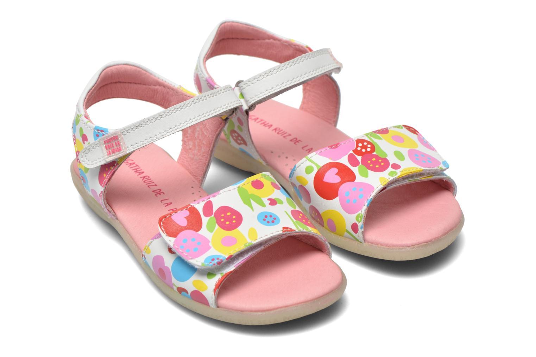 Sandals Agatha Ruiz de la Prada Hanataba Multicolor 3/4 view