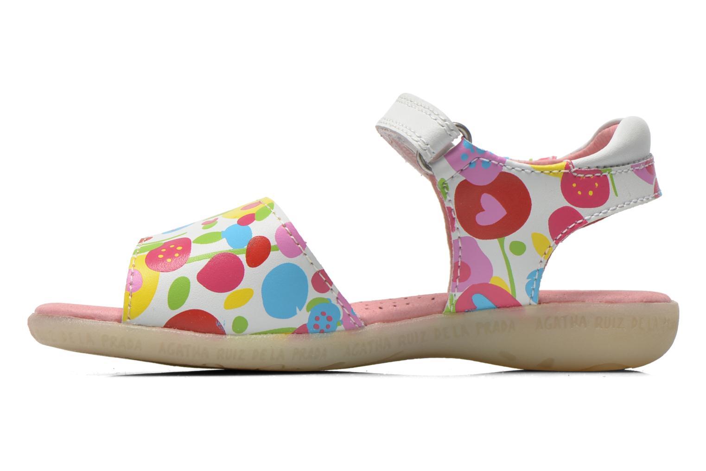 Sandals Agatha Ruiz de la Prada Hanataba Multicolor front view