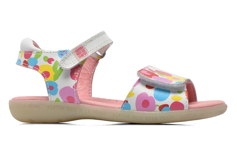 Sandals Agatha Ruiz de la Prada Hanataba Multicolor back view