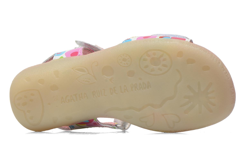 Sandals Agatha Ruiz de la Prada Hanataba Multicolor view from above