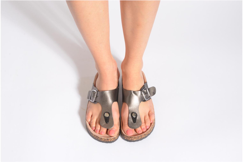 Sandalias I Love Shoes Kirtui Negro vista de abajo