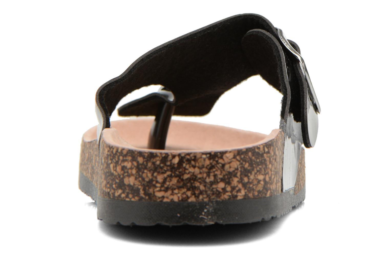 Sandalias I Love Shoes Kirtui Negro vista lateral derecha