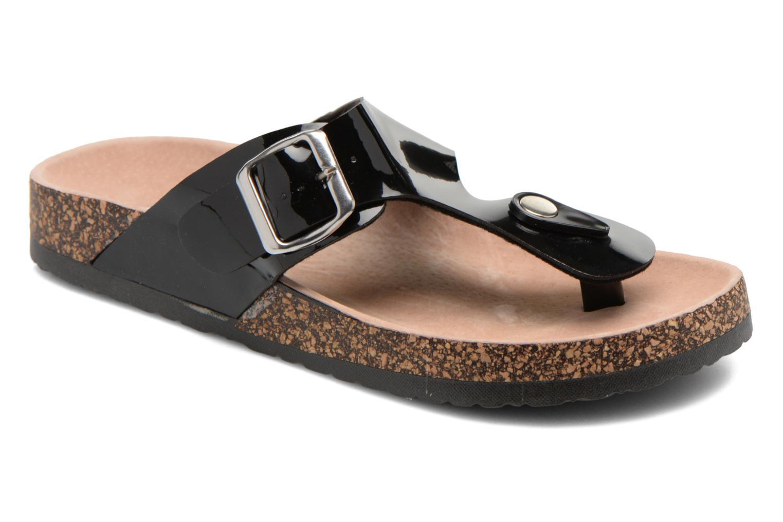 Sandalias I Love Shoes Kirtui Negro vista de detalle / par