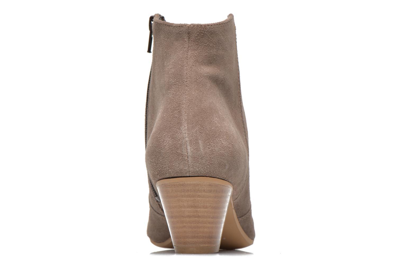 Bottines et boots Georgia Rose Celacou Beige vue droite