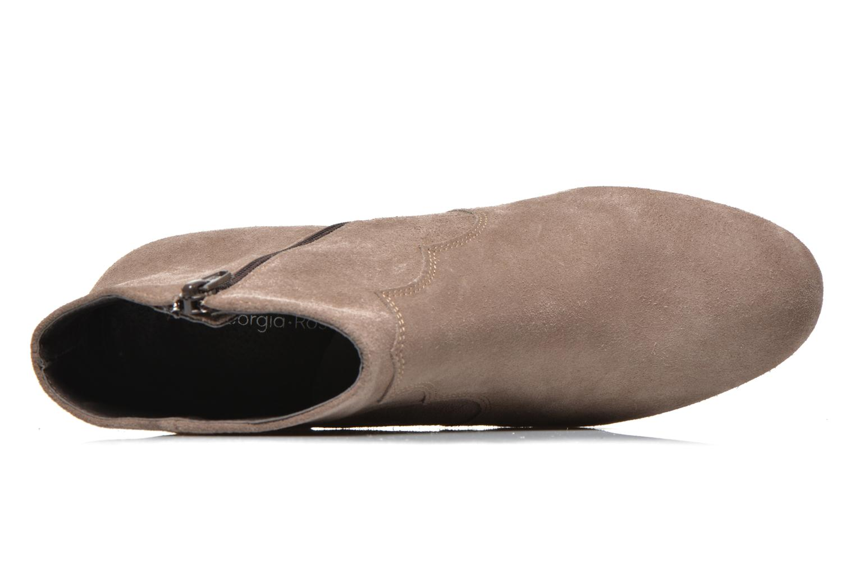 Bottines et boots Georgia Rose Celacou Beige vue gauche