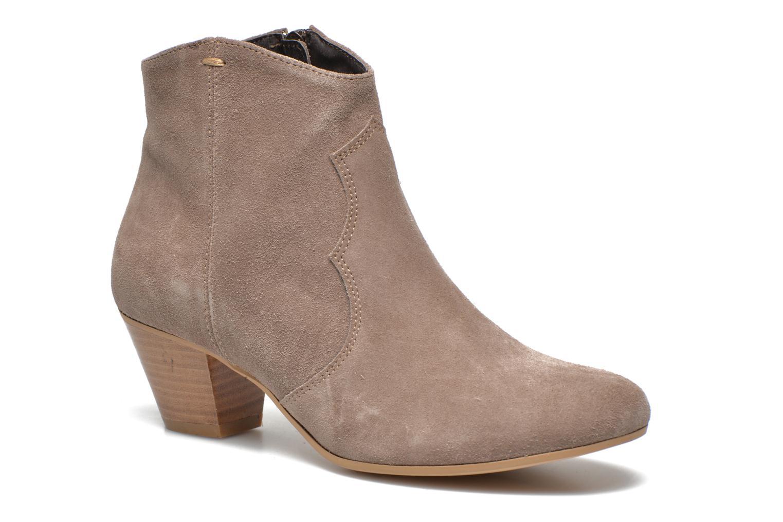 Bottines et boots Georgia Rose Celacou Beige vue détail/paire