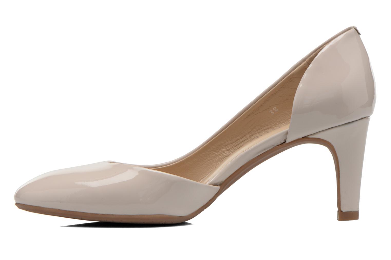 High heels JB MARTIN 3Gabaret Beige front view