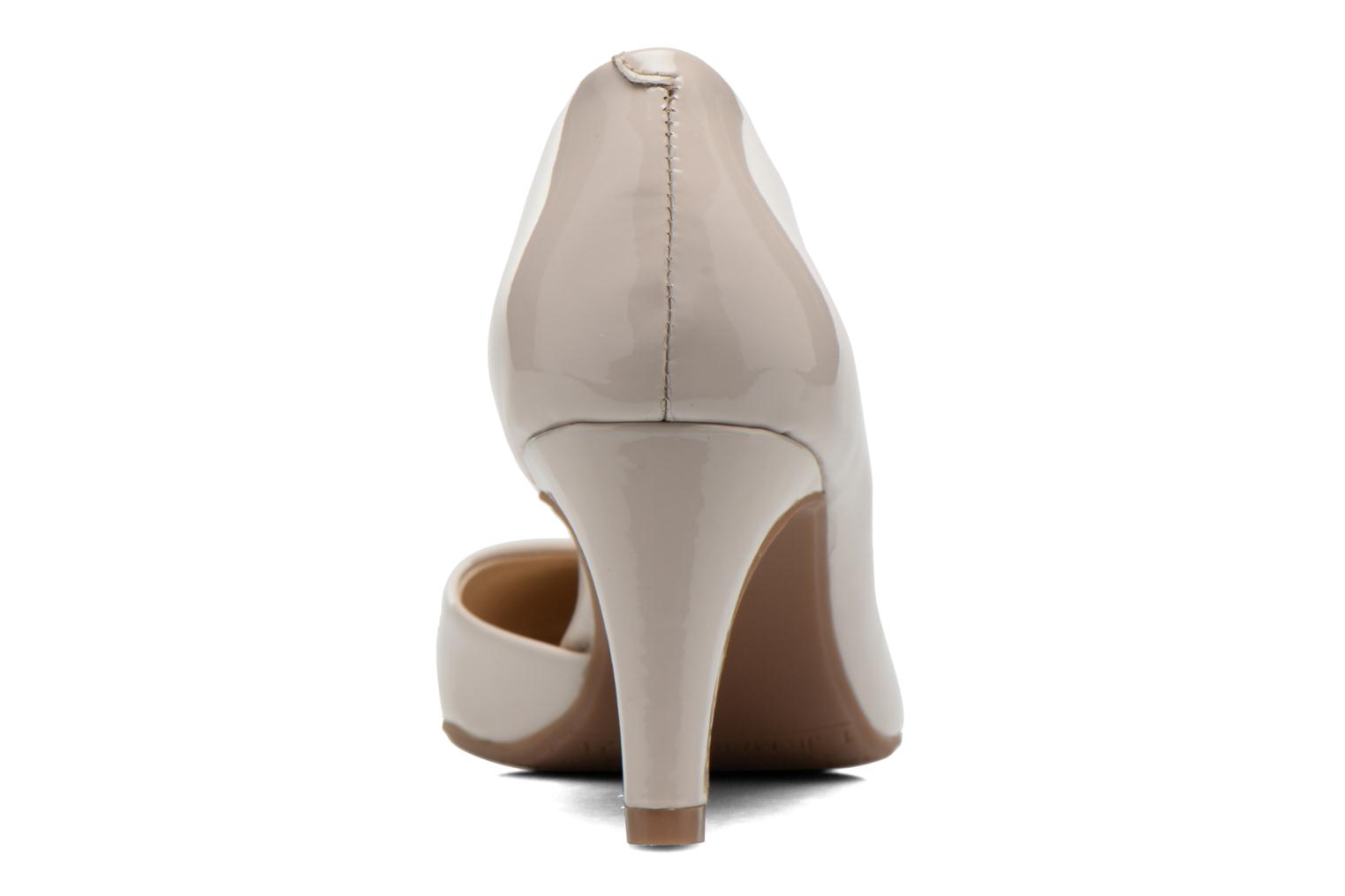 High heels JB MARTIN 3Gabaret Beige view from the right