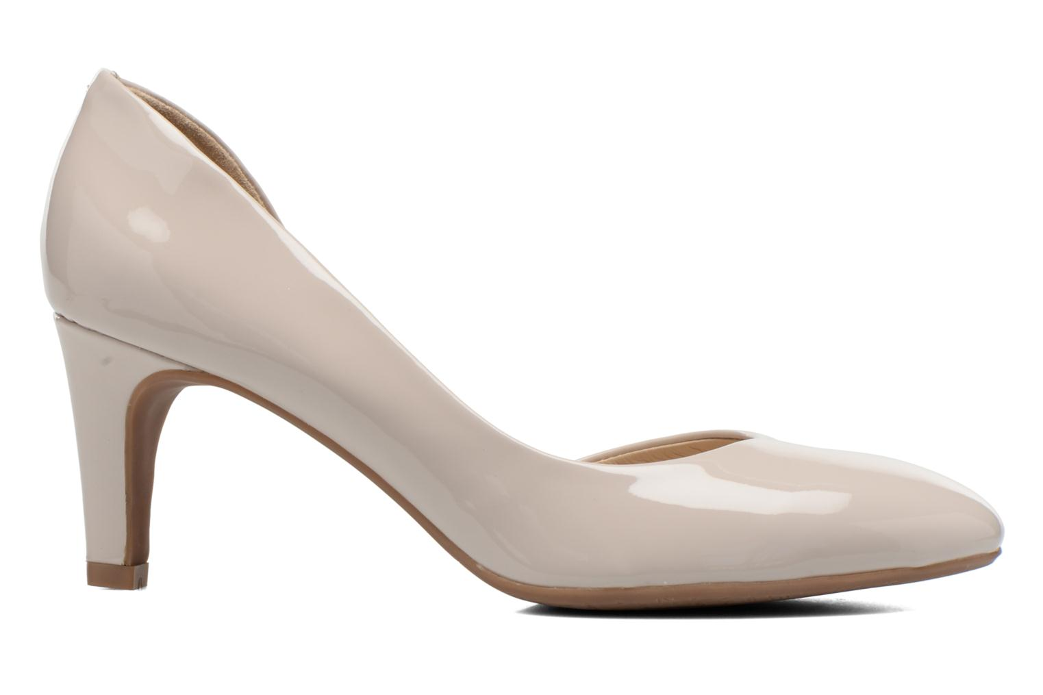 High heels JB MARTIN 3Gabaret Beige back view