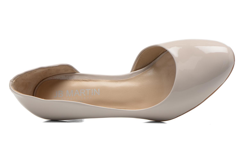 Zapatos de tacón JB MARTIN 3Gabaret Beige vista lateral izquierda