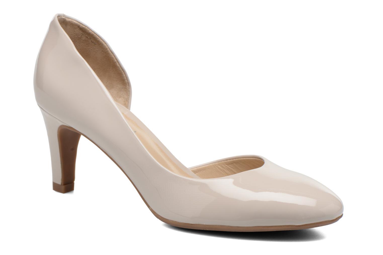 Høje hæle JB MARTIN 3Gabaret Beige detaljeret billede af skoene