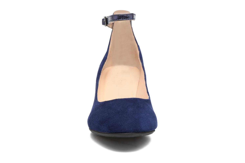 Escarpins JB MARTIN 1Galine Bleu vue portées chaussures