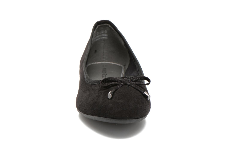 Ballerinaer Marco Tozzi Maëly 2 Sort se skoene på