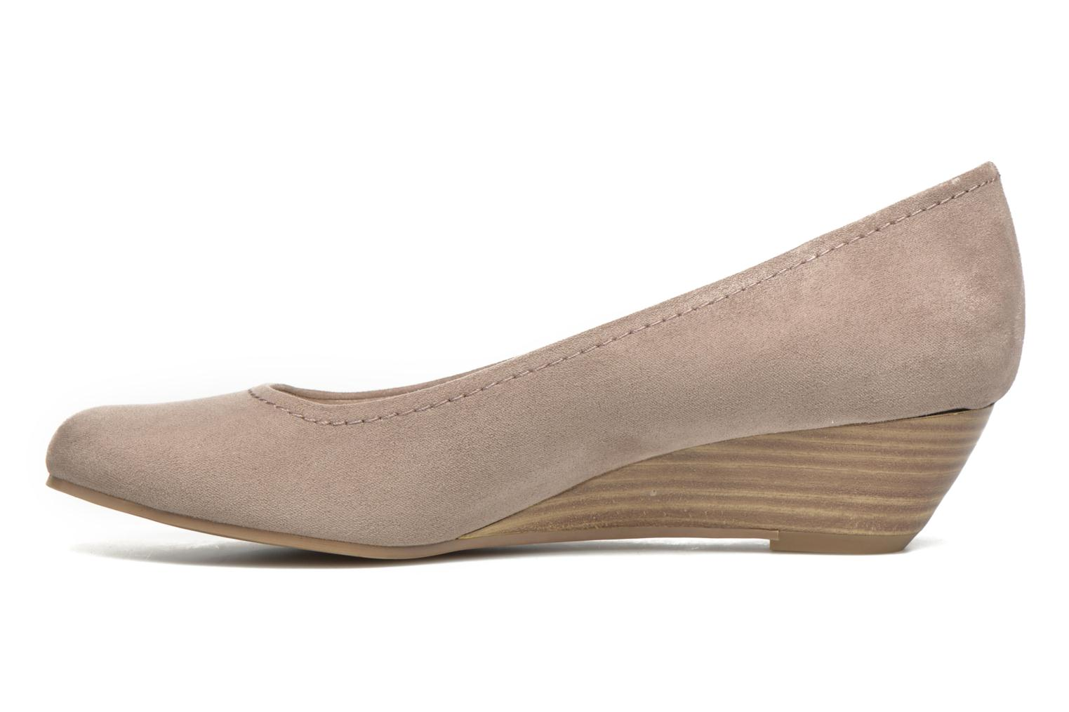High heels Marco Tozzi Imit 2 Brown front view