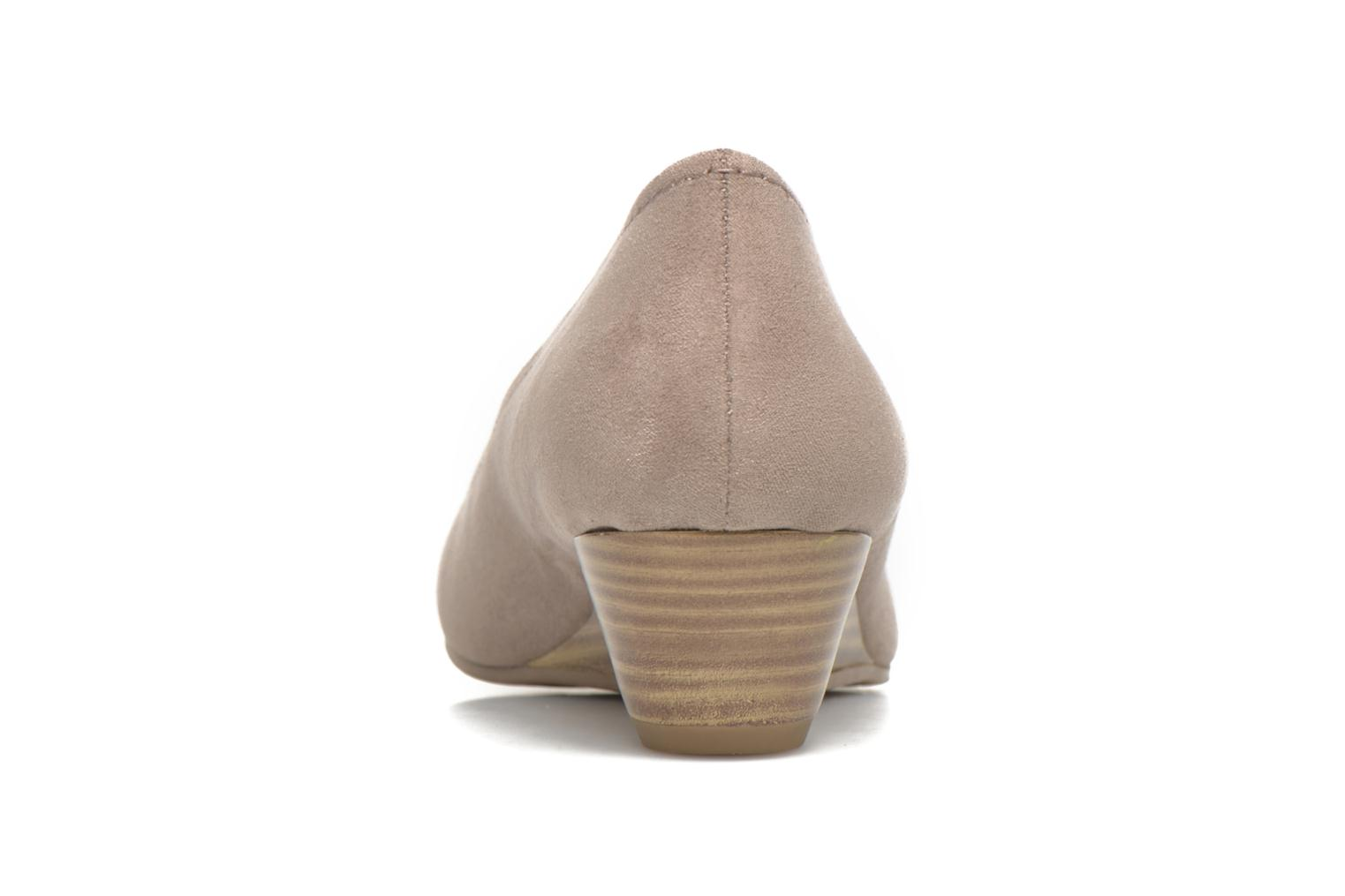 High heels Marco Tozzi Imit 2 Brown view from the right