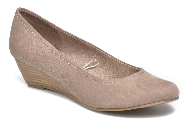 Høje hæle Marco Tozzi Imit 2 Brun detaljeret billede af skoene