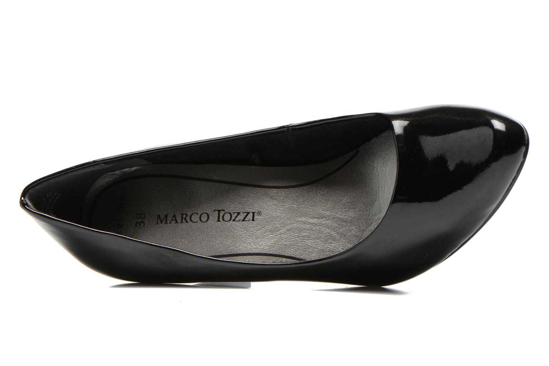 Escarpins Marco Tozzi Erodia Noir vue gauche