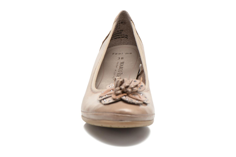 Zapatos de tacón Marco Tozzi Nikuta Beige vista del modelo