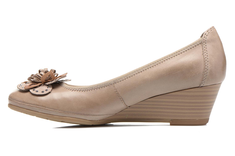 Zapatos de tacón Marco Tozzi Nikuta Beige vista de frente