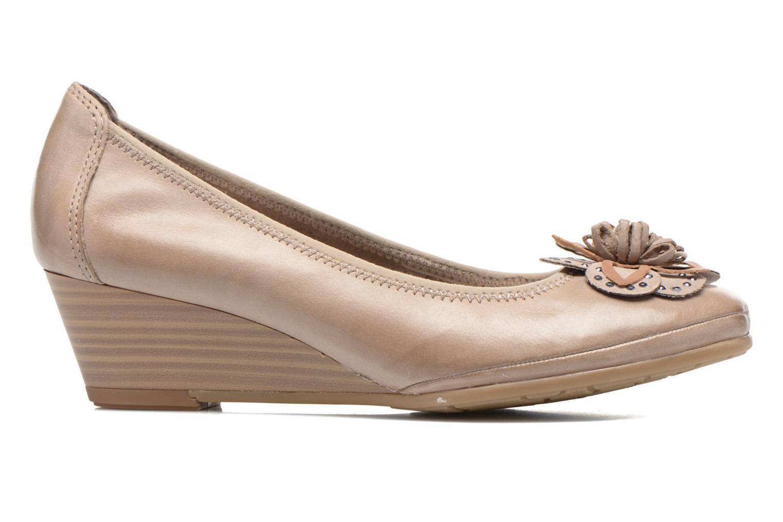 Zapatos de tacón Marco Tozzi Nikuta Beige vistra trasera
