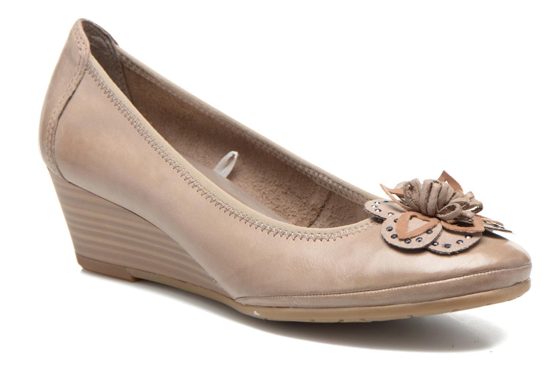 Zapatos de tacón Marco Tozzi Nikuta Beige vista de detalle / par