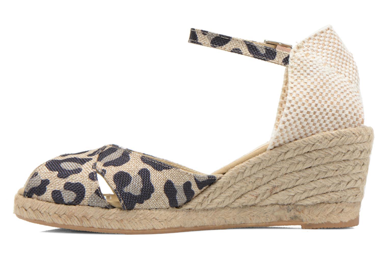 Sandales et nu-pieds Elizabeth Stuart Trento 667 Marron vue face
