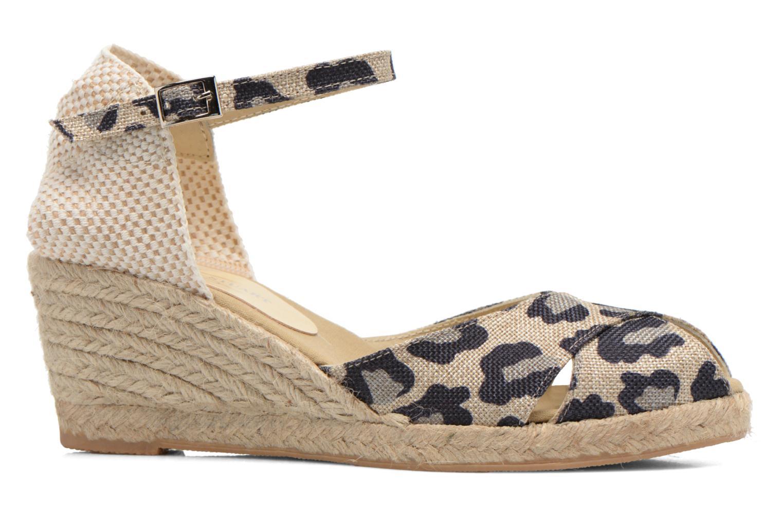 Sandales et nu-pieds Elizabeth Stuart Trento 667 Marron vue derrière