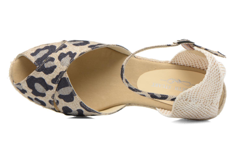 Sandales et nu-pieds Elizabeth Stuart Trento 667 Marron vue gauche