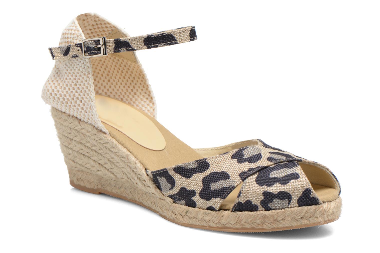 Sandales et nu-pieds Elizabeth Stuart Trento 667 Marron vue détail/paire