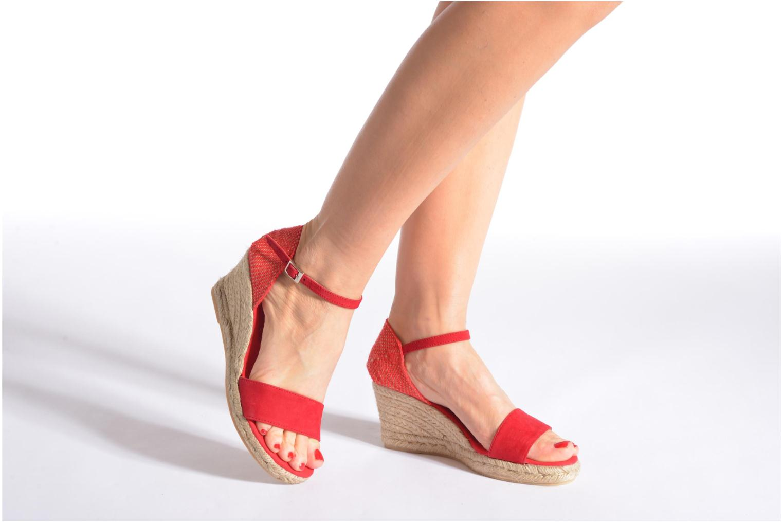 Sandales et nu-pieds Elizabeth Stuart Trevise/C 630 Beige vue bas / vue portée sac