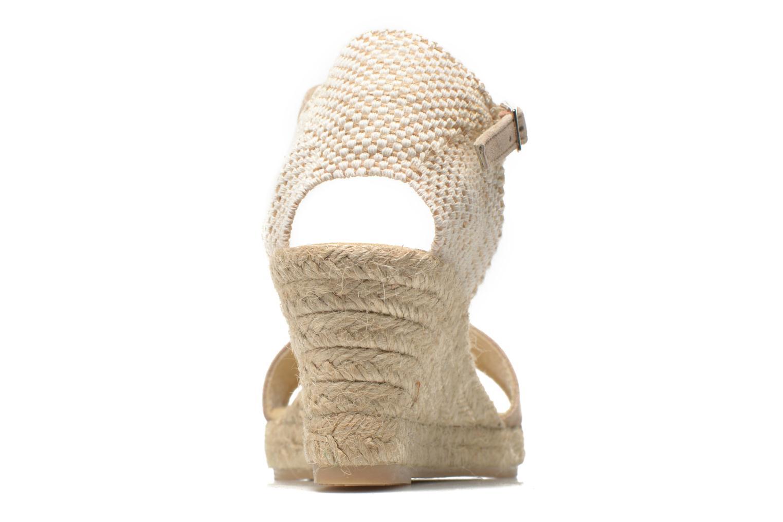 Sandales et nu-pieds Elizabeth Stuart Trevise/C 630 Beige vue droite