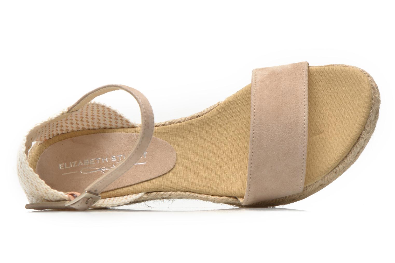 Sandales et nu-pieds Elizabeth Stuart Trevise/C 630 Beige vue gauche