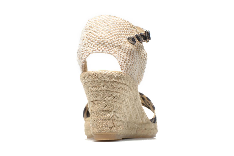 Sandales et nu-pieds Elizabeth Stuart TreviseC 667 Beige vue droite