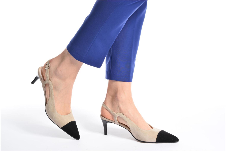 High heels Elizabeth Stuart Rany 300-2 Black view from underneath / model view