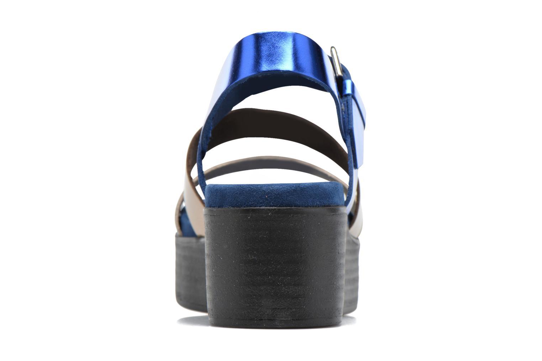 Sandales et nu-pieds Elizabeth Stuart Tabriz 382-3 Bleu vue droite