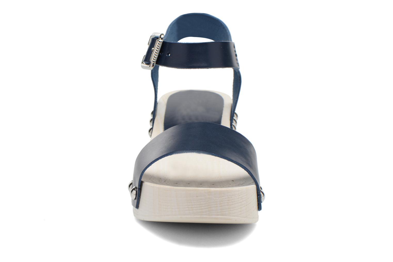 Sandales et nu-pieds Elizabeth Stuart Utac 869 Bleu vue portées chaussures