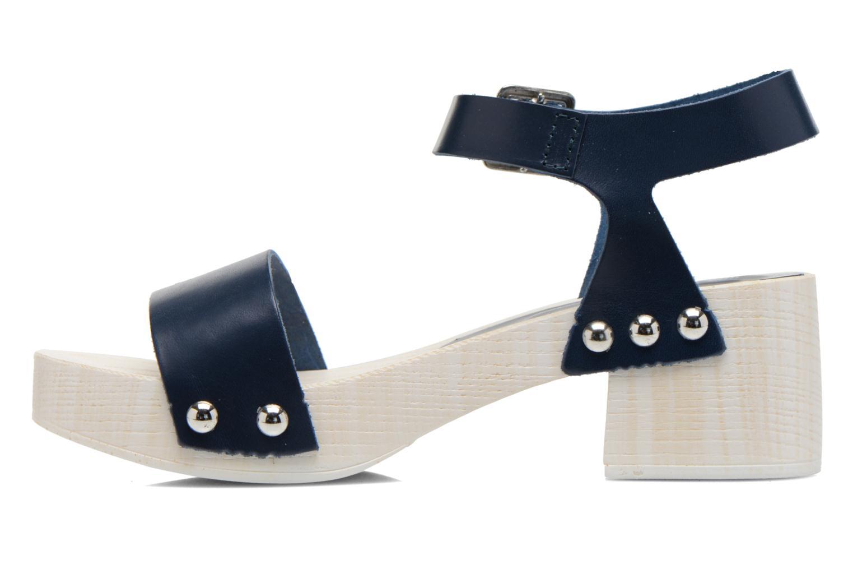 Sandales et nu-pieds Elizabeth Stuart Utac 869 Bleu vue face