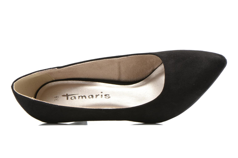 Escarpins Tamaris Peruna Noir vue gauche