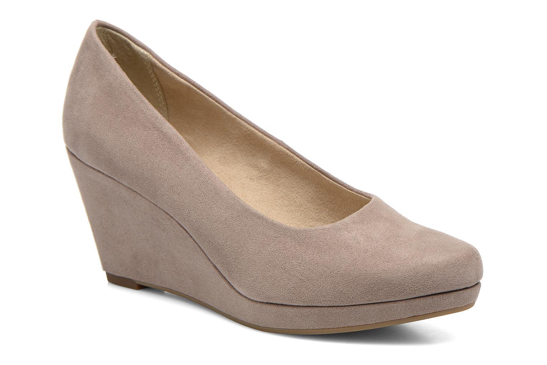 Høje hæle Tamaris Rucuhy 2 Beige detaljeret billede af skoene