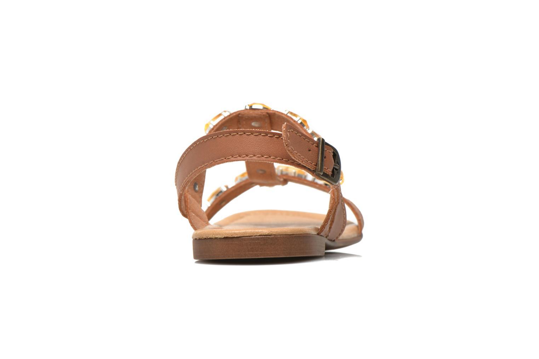 Sandales et nu-pieds Tamaris Turana Marron vue droite