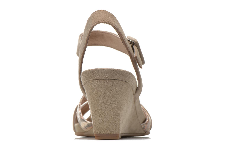 Sandales et nu-pieds Tamaris Covuja Beige vue droite