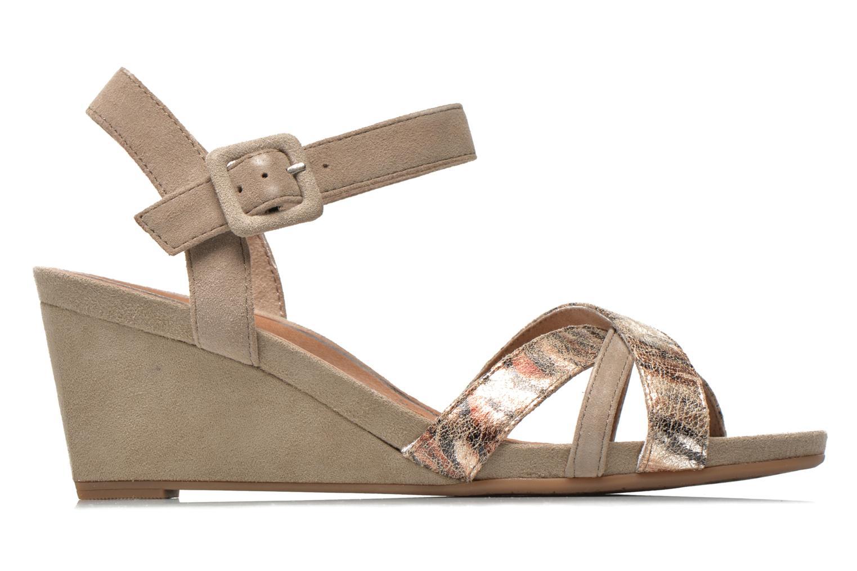 Sandales et nu-pieds Tamaris Covuja Beige vue derrière