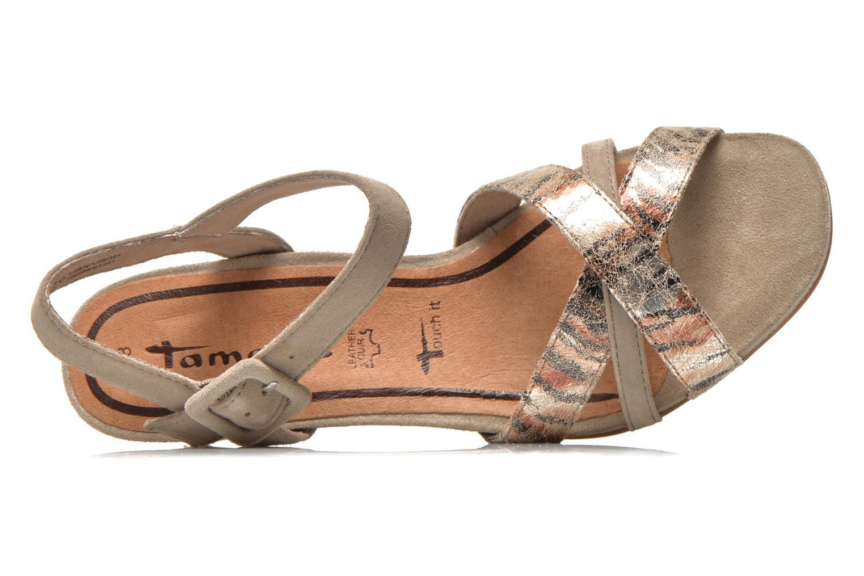 Sandales et nu-pieds Tamaris Covuja Beige vue gauche