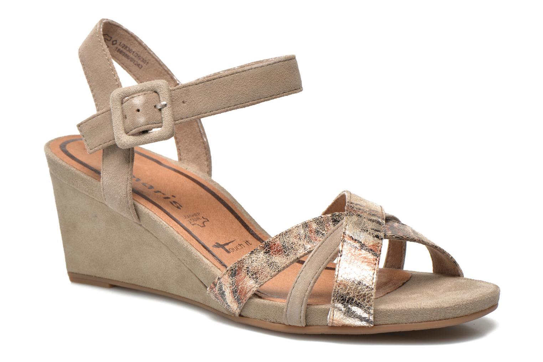 Sandaler Tamaris Covuja Beige detaljeret billede af skoene