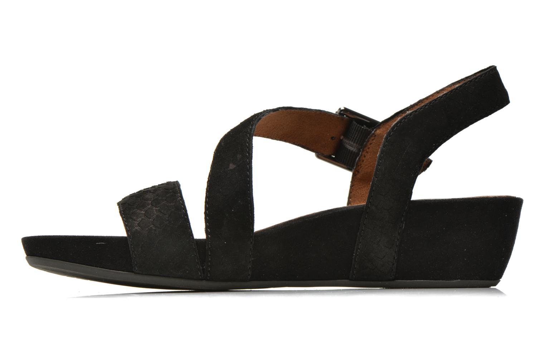 Sandales et nu-pieds Tamaris Gipoma Noir vue face