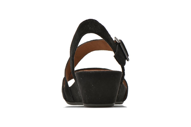 Sandales et nu-pieds Tamaris Gipoma Noir vue droite