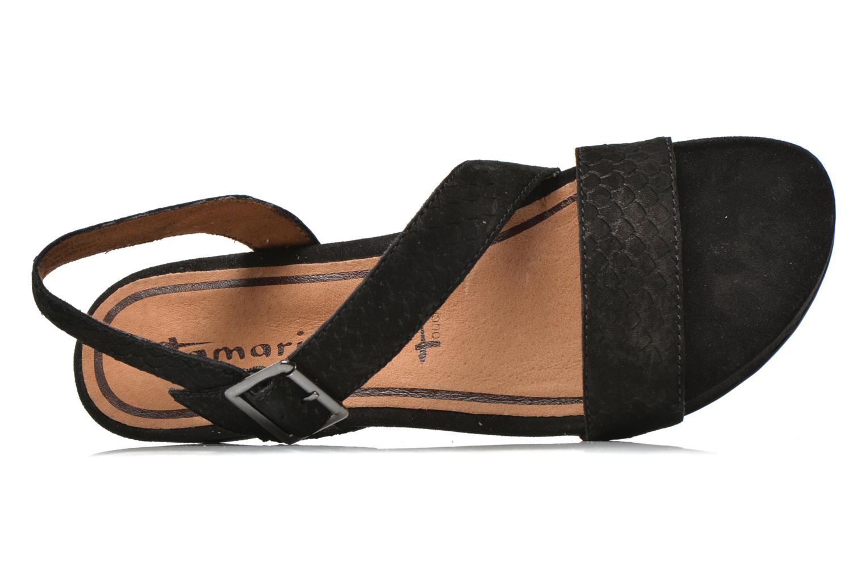 Sandales et nu-pieds Tamaris Gipoma Noir vue gauche