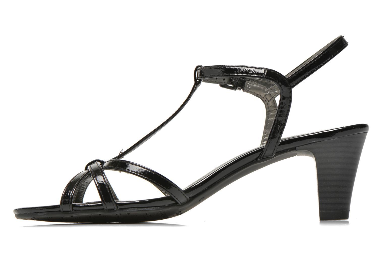 Sandales et nu-pieds Tamaris Zerofa Noir vue face