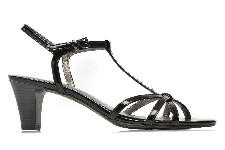 Sandales et nu-pieds Tamaris Zerofa Noir vue derrière